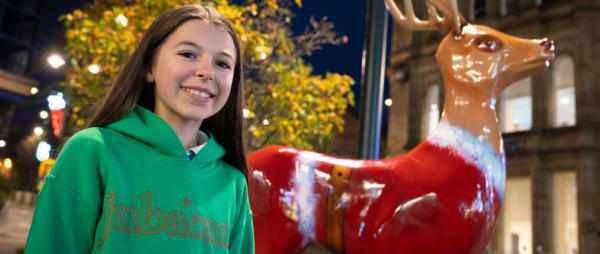 Animal Free Reindeer Parade Trail brings festive cheer to Oldham