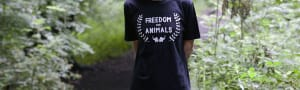 Freedom t-shirt Classic in black